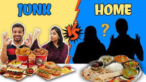 JUNK FOOD VS HOME FOOD CHALLENGE | PARENTS VS HUNGRY BIRDS - YouTube