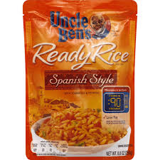 uncle bens rice spanish style pouch