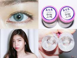 Mini ava Gray. This eye lens is a intensively pigmented gray color.It's one  tone gray color without limb… | Contact lenses colored, Dark grey eyes,  Colored contacts