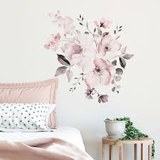 Flowers Wall Stickers For Kids Room Living Room Bedroom Home Decoration Decal Ebay