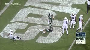 Aaron Burbridge Double Spin Move TD vs. Penn State - YouTube
