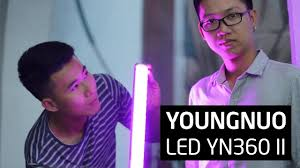 Trên tay đèn Led YN360 ll cho quay phim và chụp hình sản phẩm đẹp hơn -  YouTube
