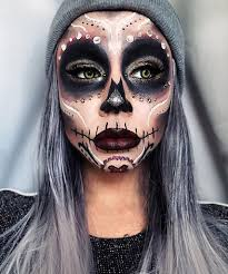 19 skull makeup looks to glam up day of