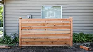How To Build A Diy Horizontal Fence