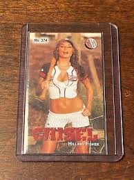 Hillary Fisher Playboy, HOOTERS MH CHISEL #D2/3 Millhouse Tobacco card  no.374 | eBay
