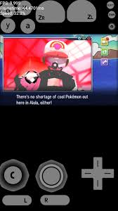 So i downloaded the citra emulator for android and loaded pokemon ...
