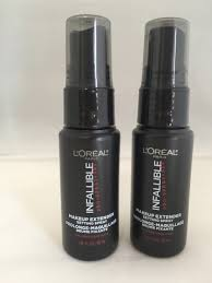 4 l oreal infallible pro spray makeup