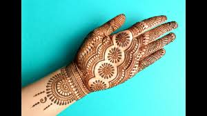 mehndi design simple wedding