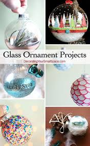 diy glass ornament projects