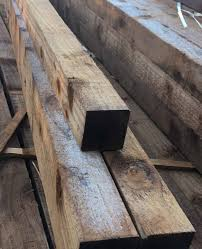 Pressure Treated Brown Fence Post 75mm X 75mm Daws Heath Timber Ltd