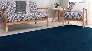 velour dark blue rug harvey norman au