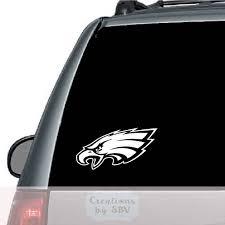 Philadelphia Eagles Logo Car Decal Car Decal Eagles Decal Etsy