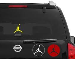 Jordan Car Decal Jumpman Nike Basketball Shoes Sports Vinyl Wall Window Sticker For Sale Online Ebay