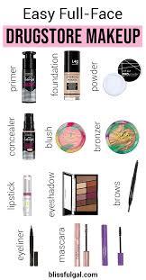 easy full face makeup