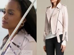 episode 4 rachel s blush pink leather