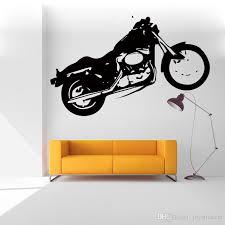 Motorcycle Wall Sticker Motorbike Harley Usa Graffiti Bike Stickers Kids Room Decoration Art Wall Decal For Home Decor Wall Stickers For Office Wall Stickers For Sale From Joystickers 11 49 Dhgate Com