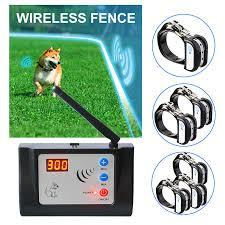Kd 882 Electric Dog Fence Wireless Collar Waterproof Dog Training Collar Rechargeable For 1 2 3 Dogs 100g2280 Training Collars Aliexpress