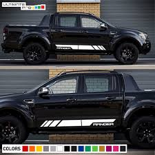 Decal Graphic Vinyl Side Stripe Kit For Ford Ranger T6 Flare Headlight Cover Px2 Ultimateprocy1ulti10deca15 Ford Ranger Stripe Kit Headlight Covers