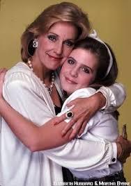 Lucinda and Lily | Soap opera stars, Martha byrne, Elizabeth hubbard