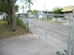 Chain Link Fence Gate For Residential Industry And Commercial Area