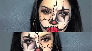 gangster clown makeup