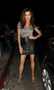 janice inson displays skinny legs