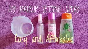 diy makeup setting spray only 3