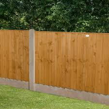 Forest Featheredge Fence Panel Dip Treated 4 Ft Pack Of 3 Amazon Co Uk Garden Outdoors
