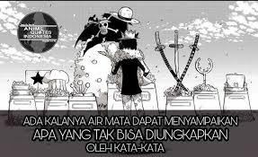 selamat pagi one piece anime quotes facebook