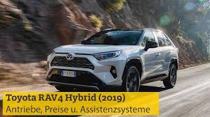 toyota rav4 hybrid 2019 antriebe