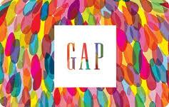 a gap gift card at a