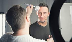 how to apply makeup for men step by