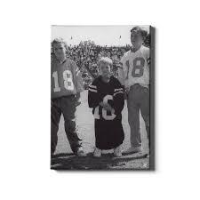 Ole Miss Rebels Vintage Cooper Peyton Eli Archie Manning Day Rebel Wall Art