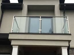 Stainless Steel Glass Railing Post Square Balcony Glass Design Glass Railing Railing Design
