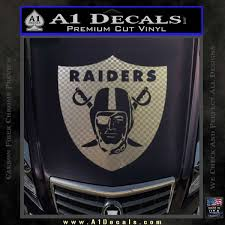 Oakland Raiders Decal Sticker Shield A1 Decals