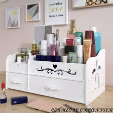 cosmetic 2 drawers organizer box