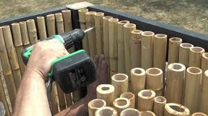 Waddell Bamboo Fencing Youtube