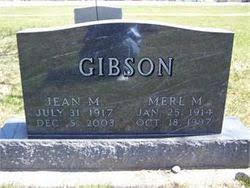 Merle M. Gibson (1914-1997) - Find A Grave Memorial