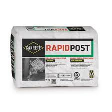 Sakrete Rapid Post 30 Kg The Home Depot Canada