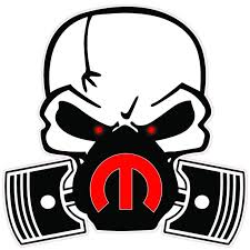 Mopar Skull Mask Red M 6 Decal Free Shipping In The United States Walmart Com Walmart Com