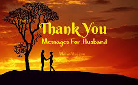 thank you messages for husband r tic sweet wishesmsg