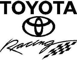 Toyota Racing Decal Sticker 02