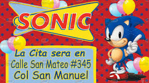 Video Invitacion Sonic Boom Youtube