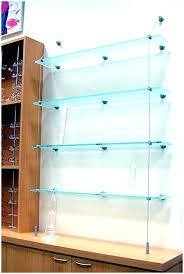 suspended glass shelves upties co