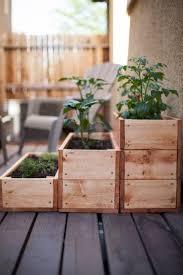 patio garden round ii garden boxes