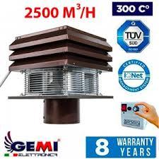 exhaust fan flue fan chimney draft