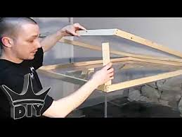 how to build an aquarium stand canopy
