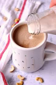 cashew coffee creamer recipe vegan