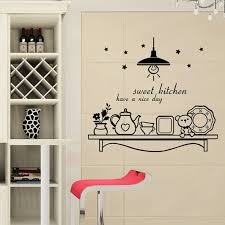 Movable Sweet Kitchen Coffee Stickers Vinyl Wall Decals Art Mural Decoration Kitchen Cafe Wallpaper F 121 Kitchen Coffee Vinyl Wall Decalswall Decals Aliexpress