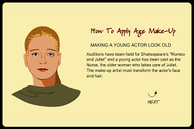 how to make an actor look older